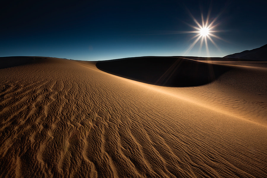 Photograph mesquite meltdown (death valley national park, ca) by Max Vuong on 500px