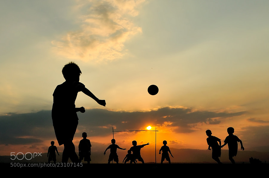 Photograph Playing Soccer by Petrus Arif on 500px