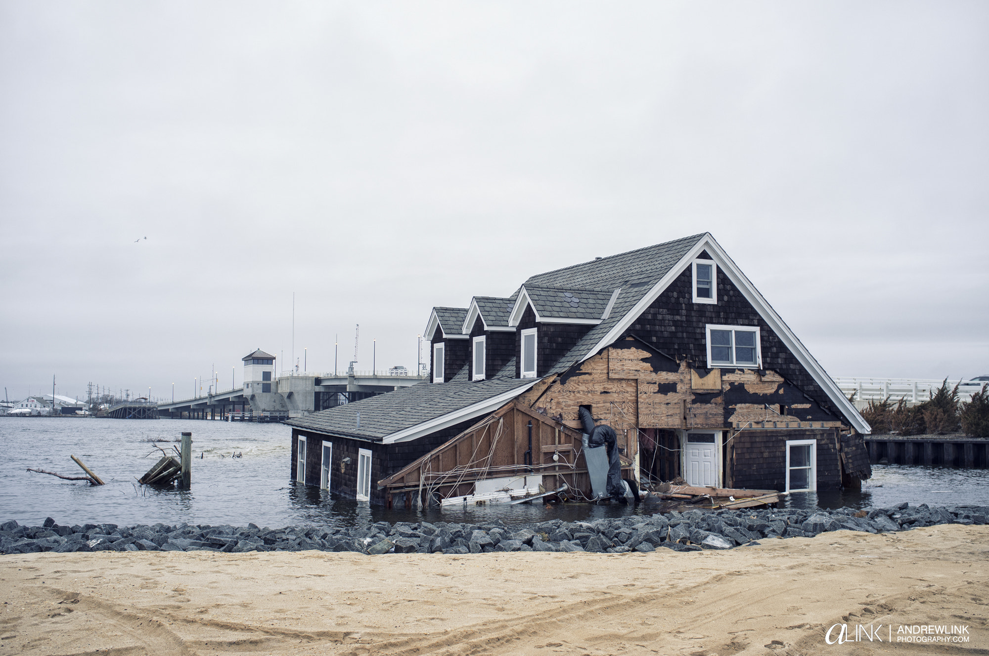 Photograph Mantolokin, NJ  2 Months After Sandy. by Andrew Link on 500px