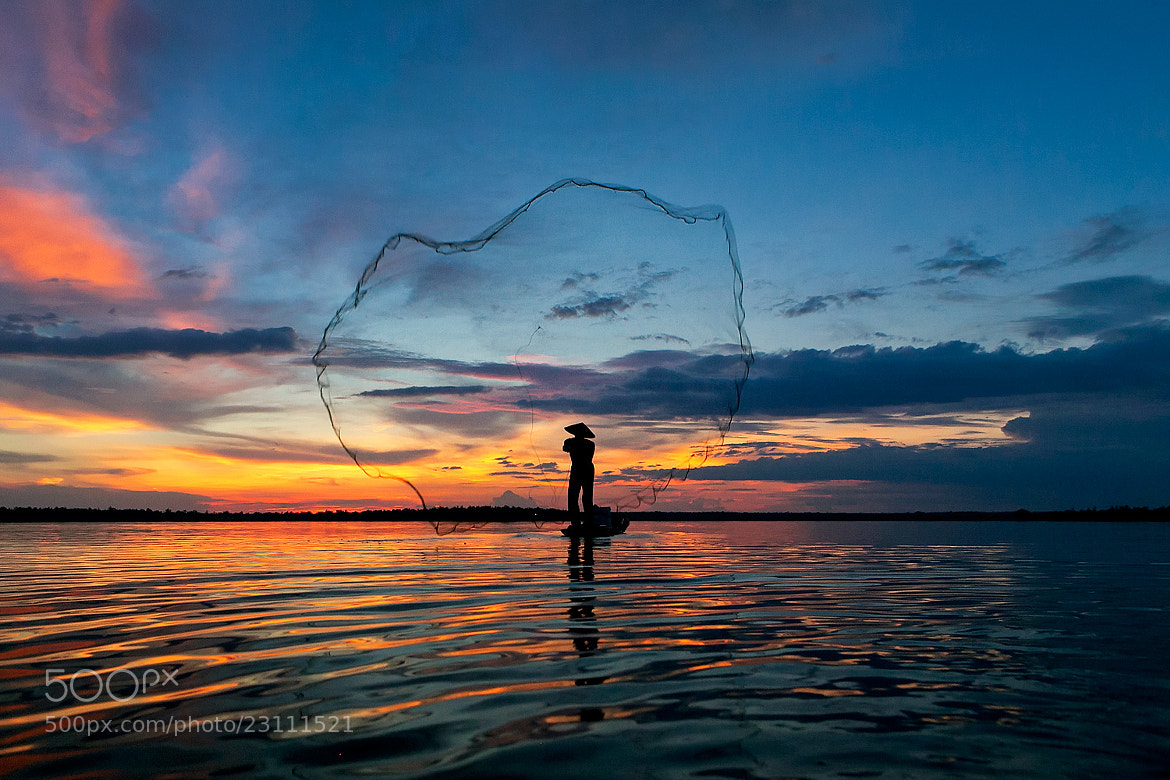Photograph fisherman nets by Saravut Whanset on 500px