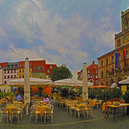 GER Weimar [Rainy Marktplatz PA] AUG 2011 by KWOT