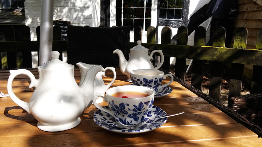 Tea in  Barley Mow Pub, UK by Sandra on 500px.com
