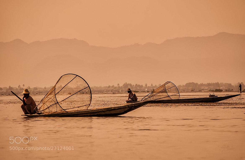 Photograph Intha Fishermen by Csilla Zelko on 500px
