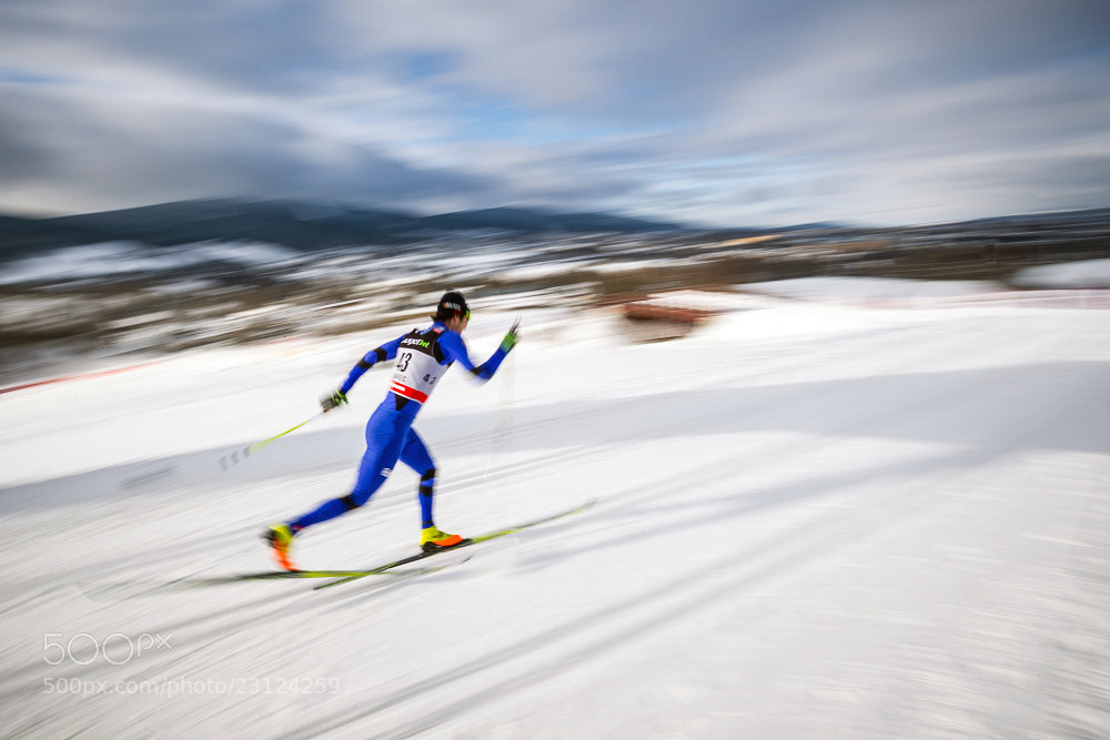 Photograph Ski sprint by Martin Kozák on 500px