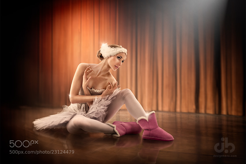 Photograph Balerina & uggs. Photo 2 by Vladimir Beroev on 500px