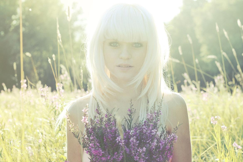 Photograph sun girl by Kate Toluzakova on 500px