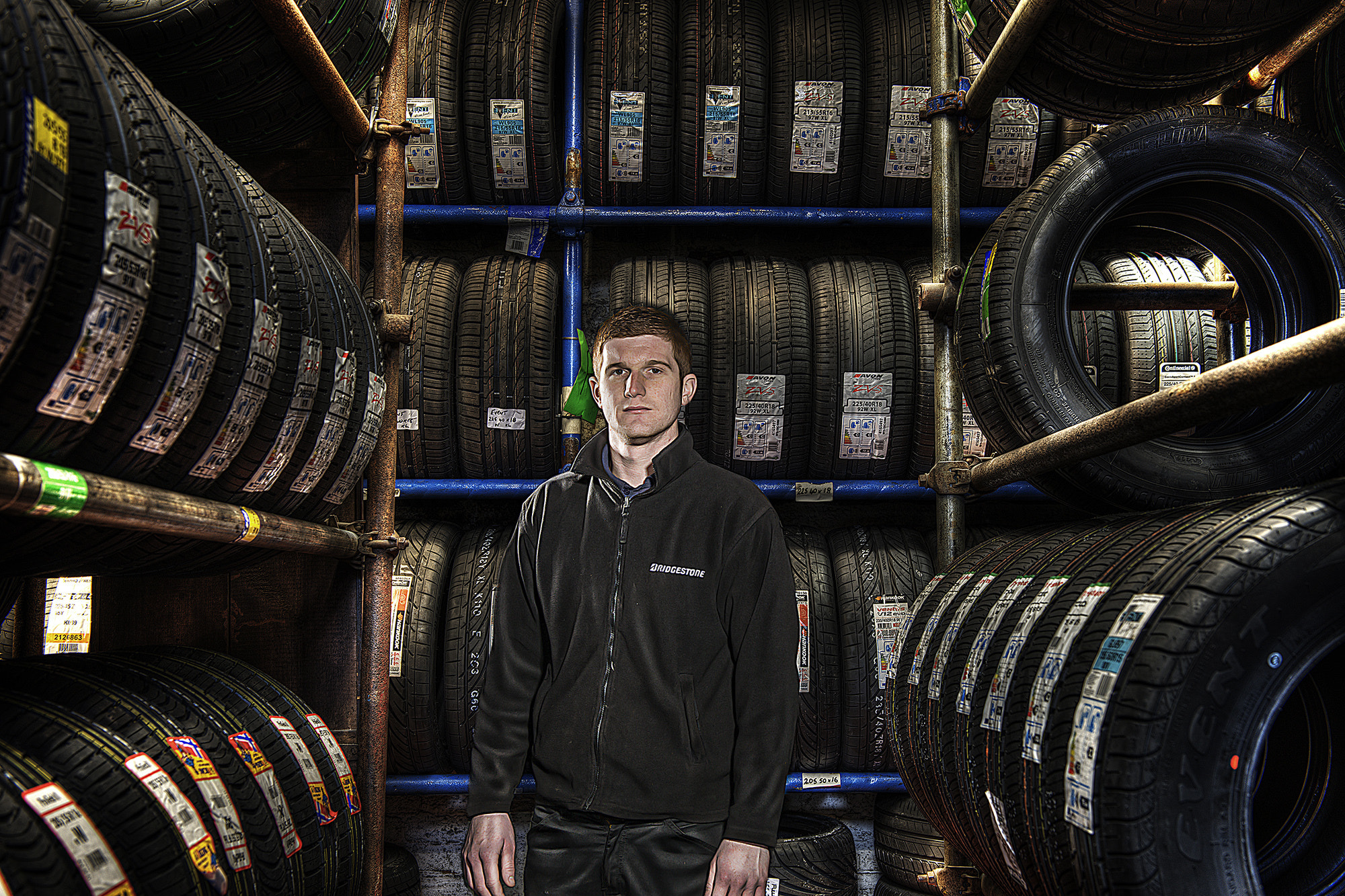 Photograph The Tyre Garage 1 by Kevin Sharpe on 500px