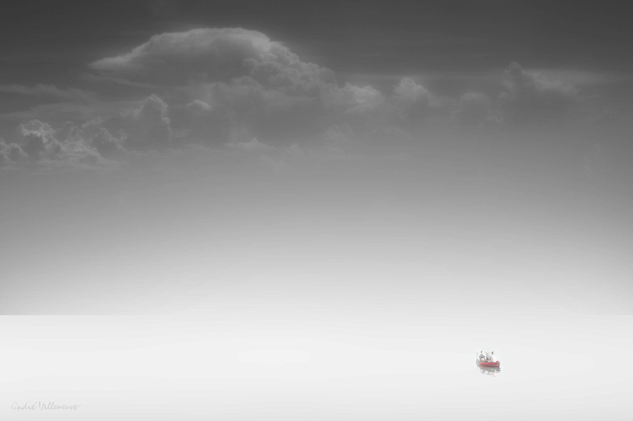 Photograph With the clouds by Andre Villeneuve on 500px