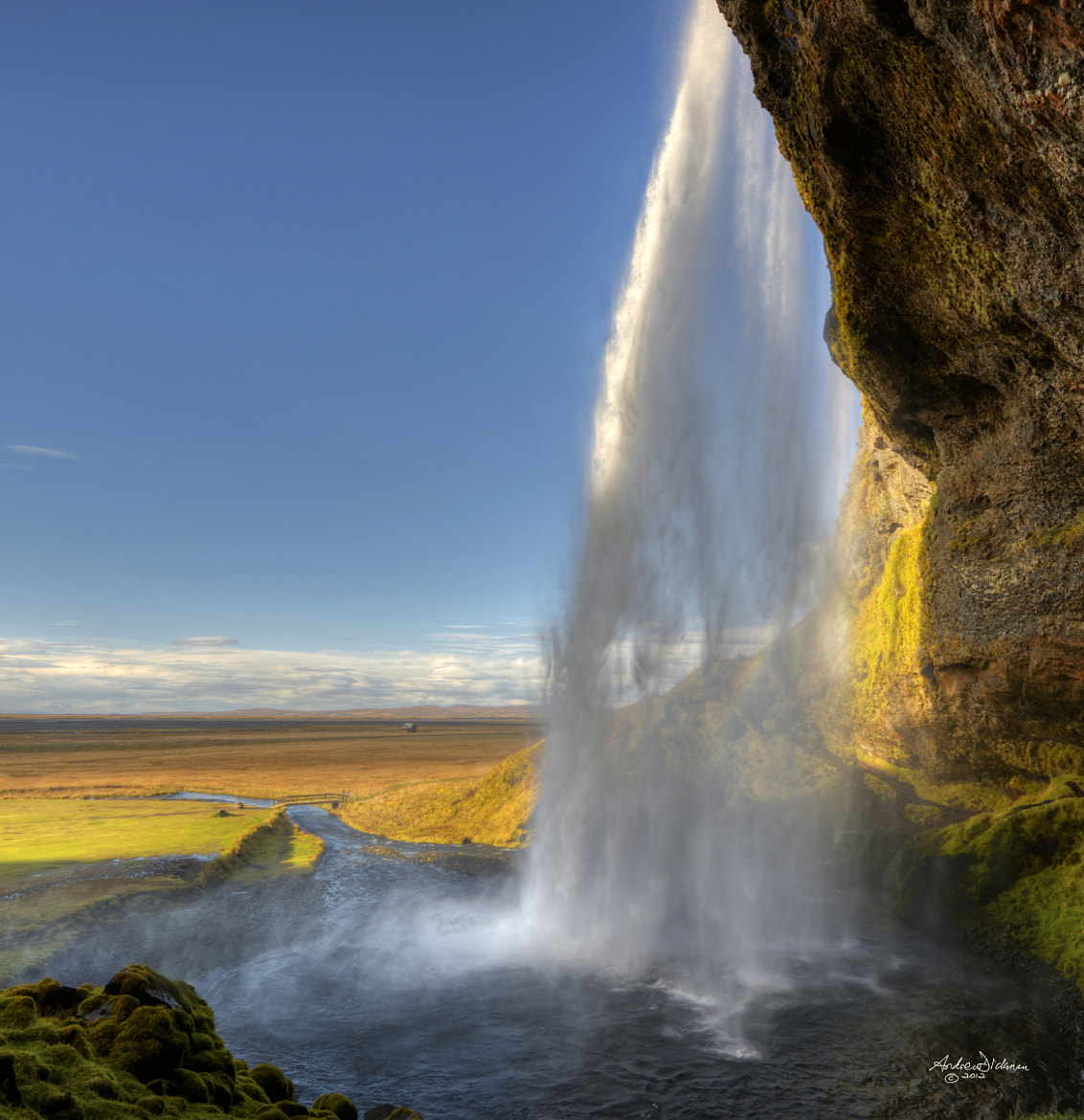 Photograph Seljalandsfoss by Andrew Dickman on 500px