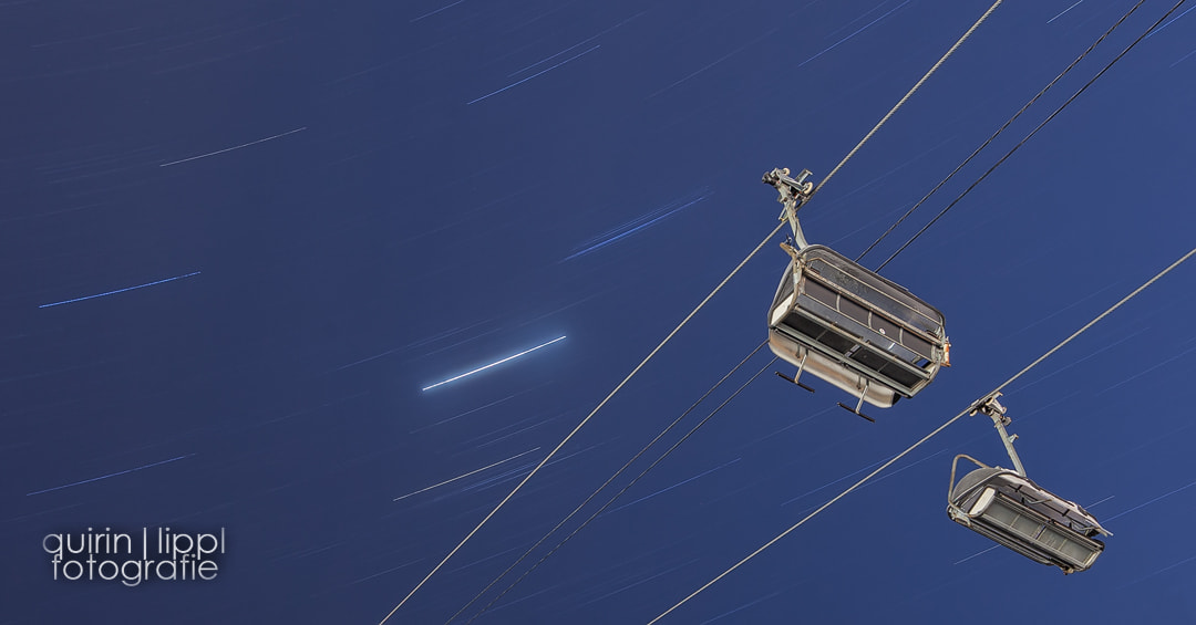 Photograph Chairlift to the Stars by Quirin Lippl on 500px