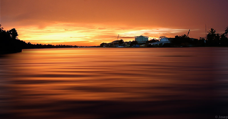 Photograph Sunset in Càn Tho (Vietnam) by Josep Girona on 500px
