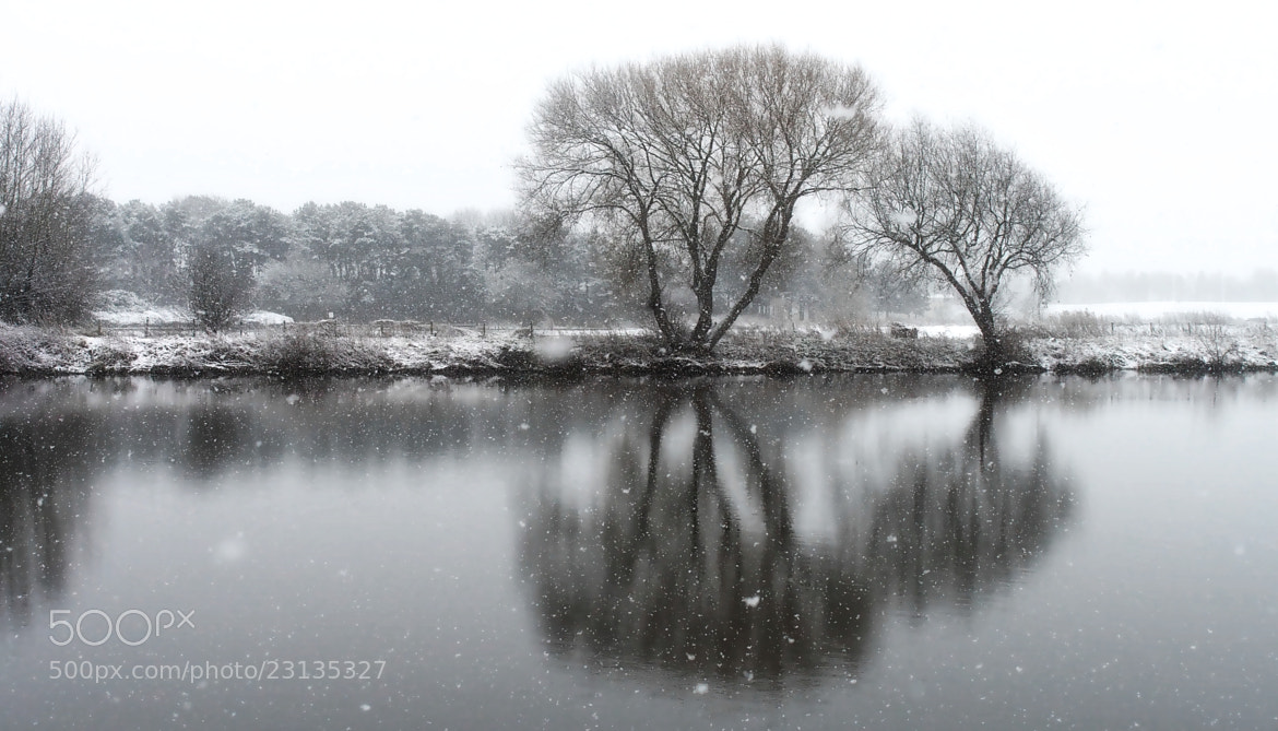 Photograph Winter Reflections by John Purchase on 500px