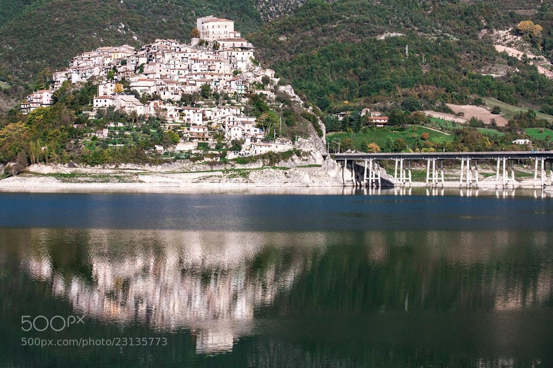 Photograph Castel di Tora by L. G. - luigig75 on 500px