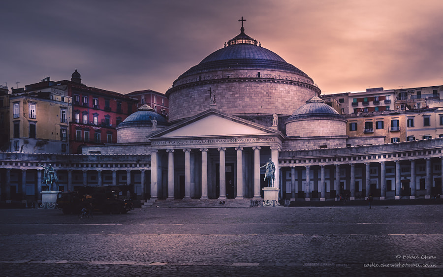 Naples#18 - San Francesco di Paola by chowE on 500px.com