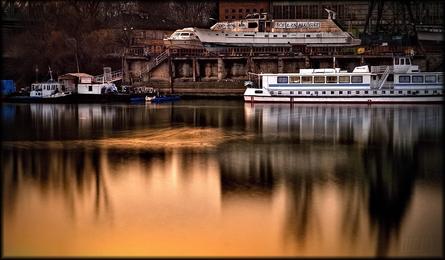 Photograph Ships on the Danube by Merl Antal György on 500px