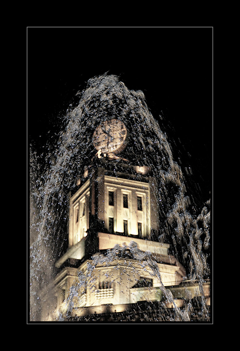 Photograph Behind the fountain by Anne Costello on 500px