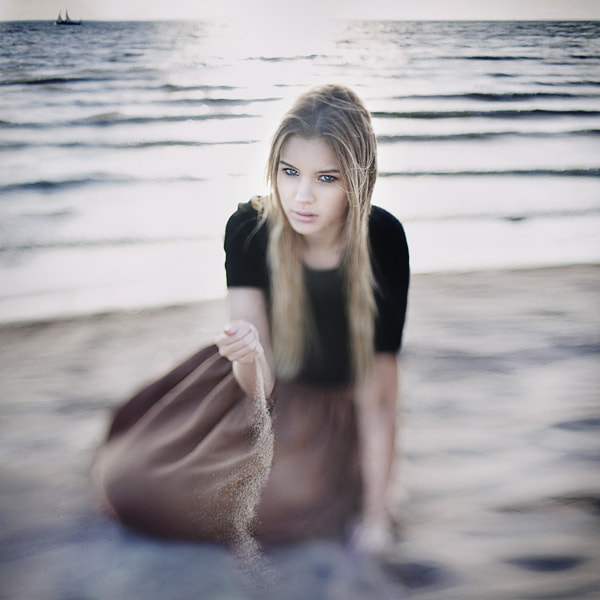 Photograph Sand by Polina Brzhezinskaya on 500px