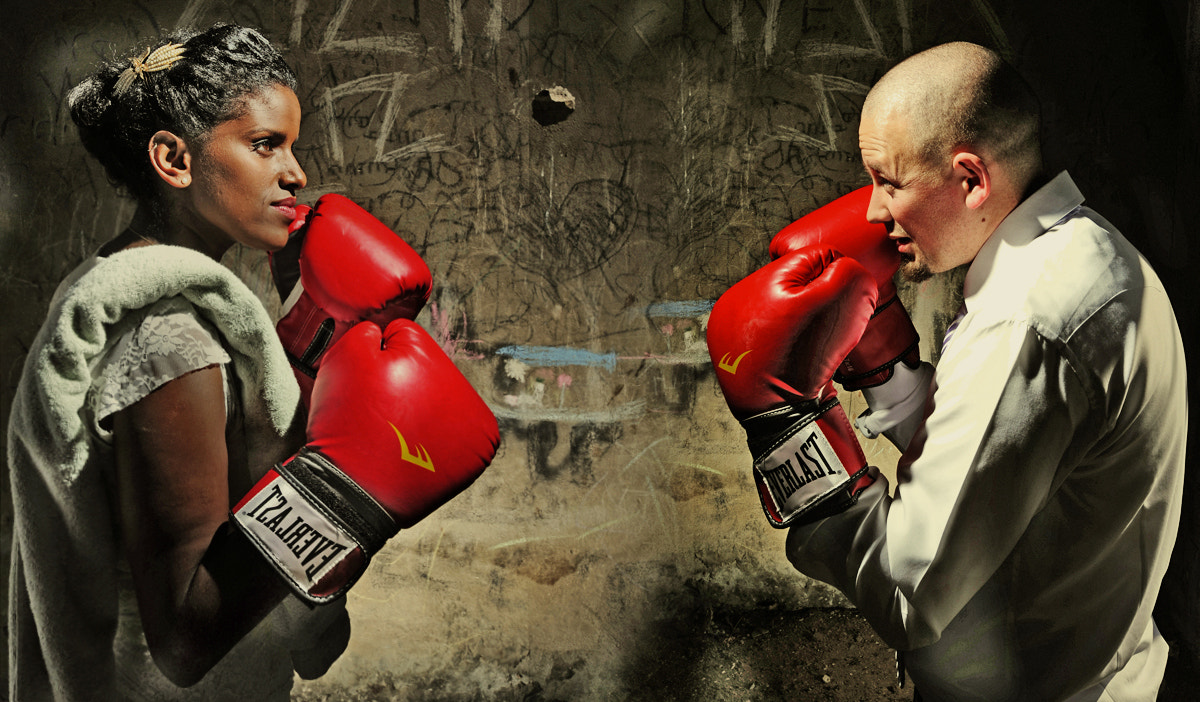 Photograph gender fight by Victor Vertsner on 500px