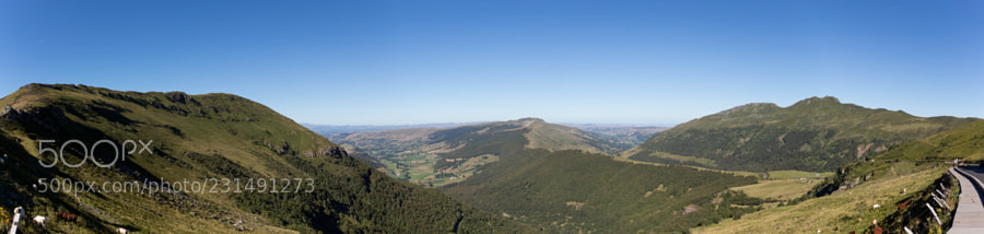 Panorama from Puy Mary
