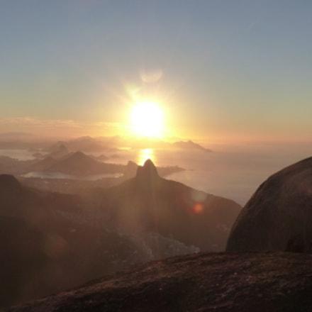 Sunrise from Pedra da Gávea