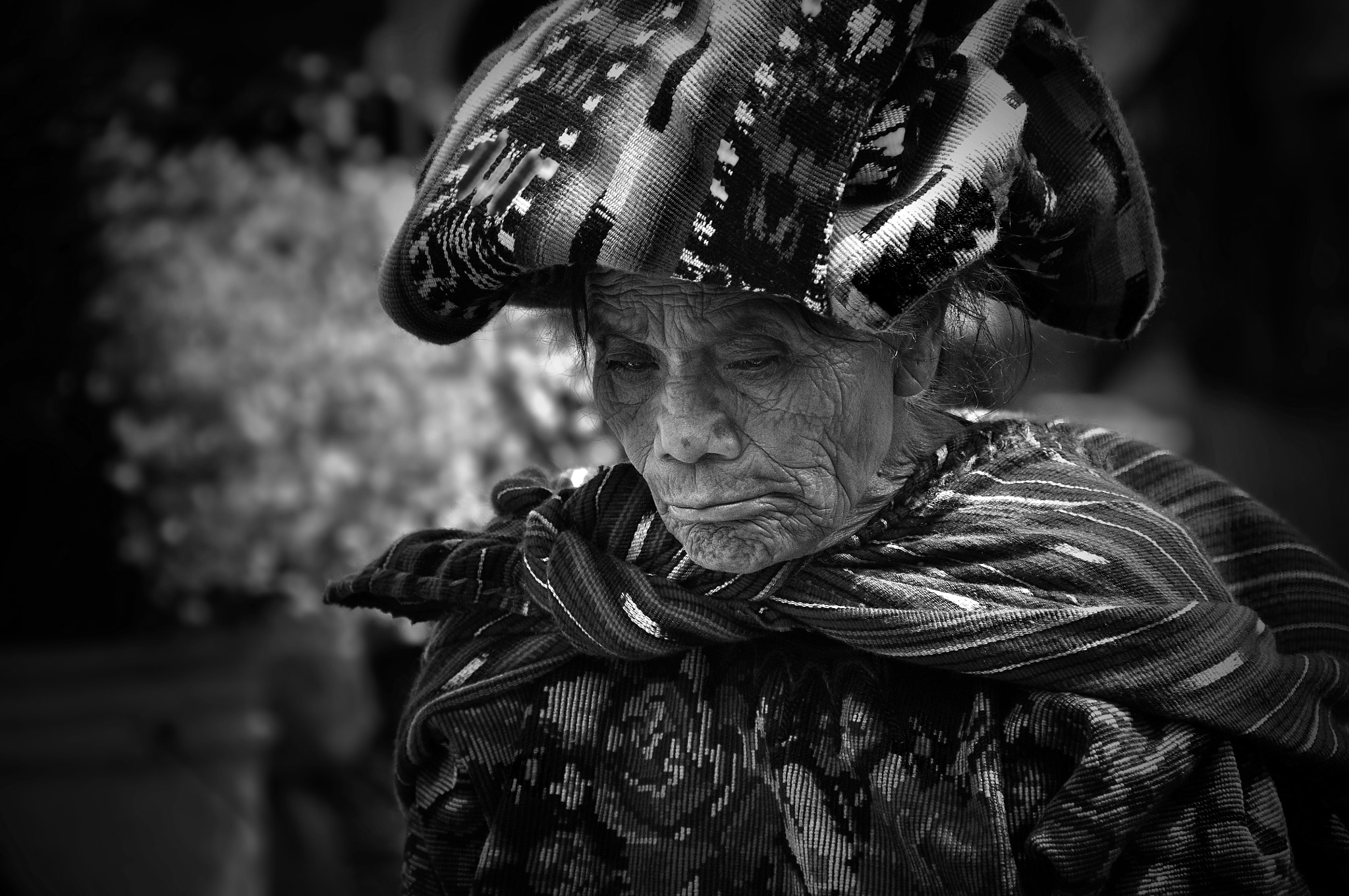 Photograph Lady of Chichi - BW by Tom Bell on 500px