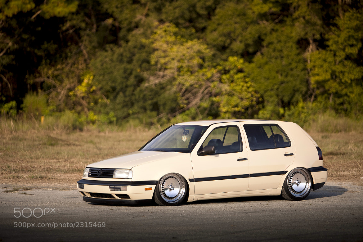 Photograph My 1995 Volkswagen Golf by Jonathan DeHate on 500px