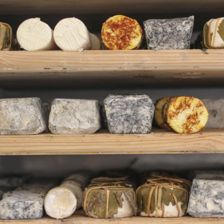 Assorted goat cheese