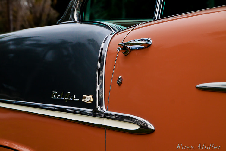 Photograph '55 Bel Air by Russ Muller on 500px