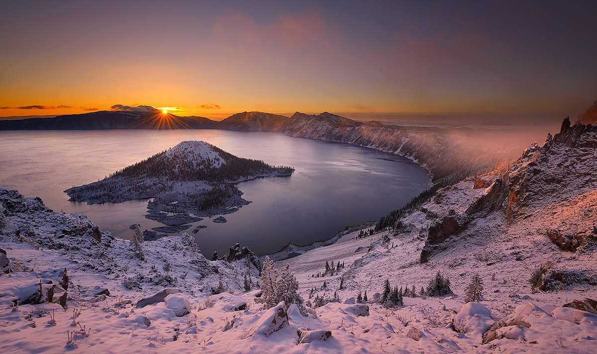 Photograph Crater Lake Sunrise by Deb Harder on 500px