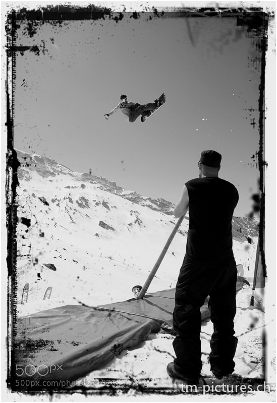 Photograph Swiss Snowboard Soundtrack by Tinu Müller on 500px