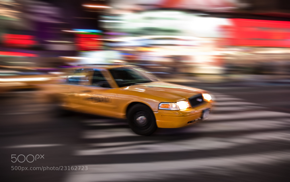 Photograph NYC - Fast & Furious Yellow Cabs by David Min on 500px