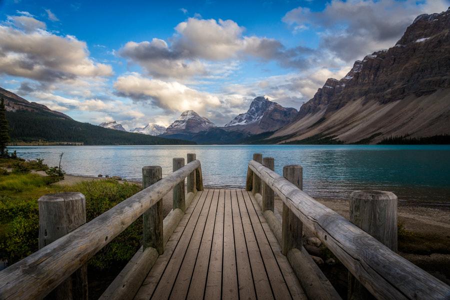 Runway to the Mountains, автор — Iván Macía на 500px.com