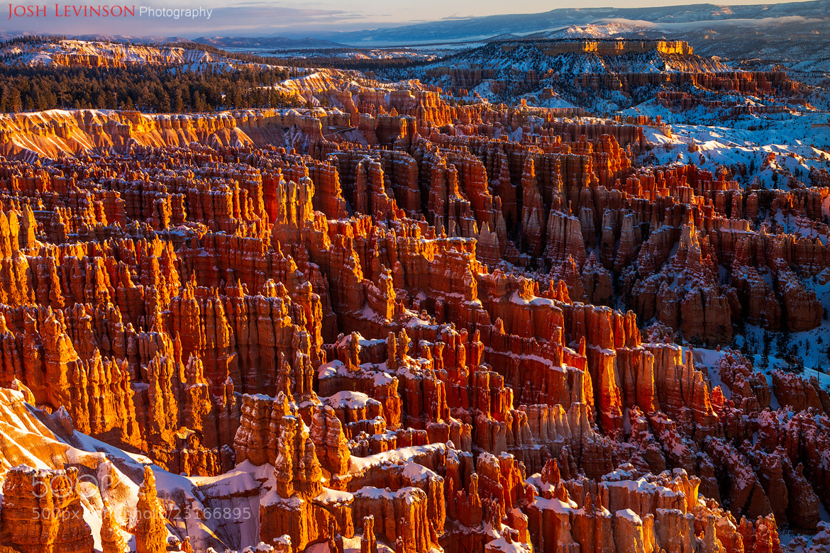 Photograph Inspiration Point, Bryce Canyon by Josh Levinson on 500px