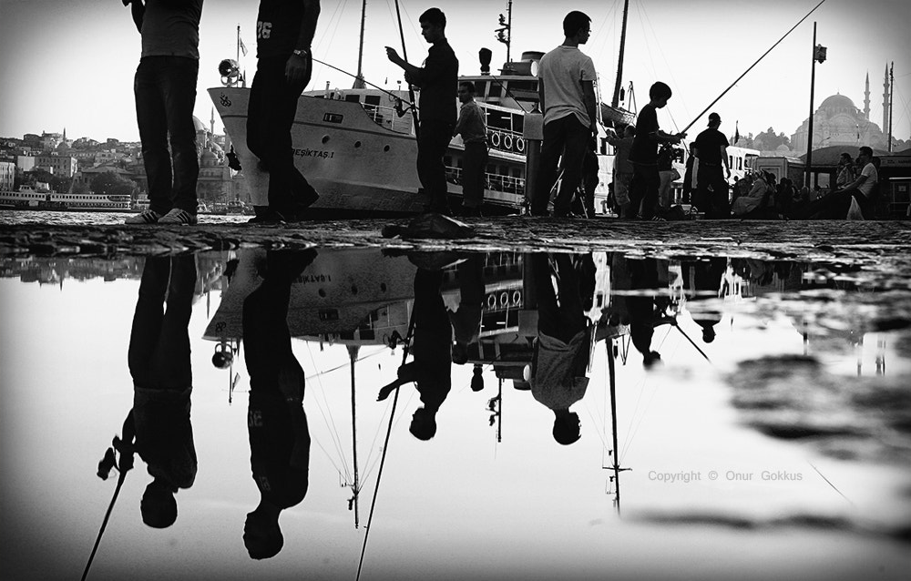 Photograph Reflection Karaköy - B&W by Onur Gokkus on 500px