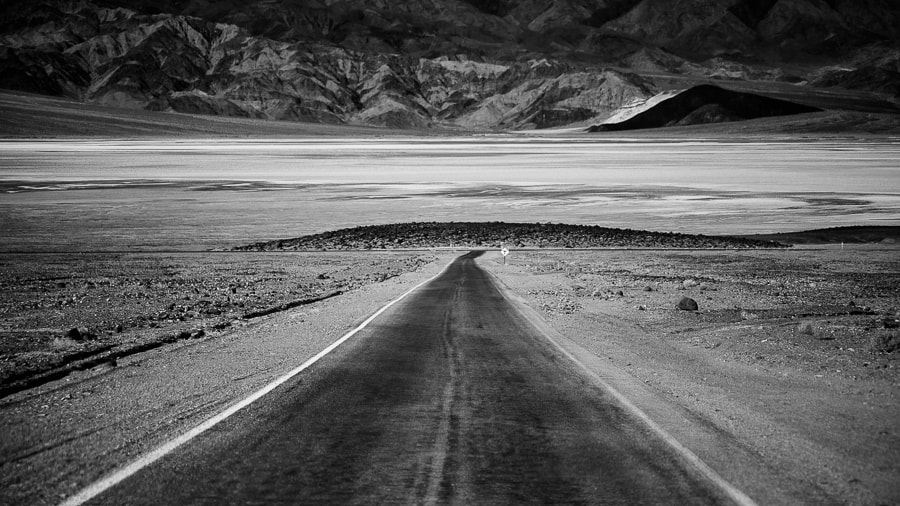 Photograph Death Valley Road by Justyna Zduńczyk on 500px