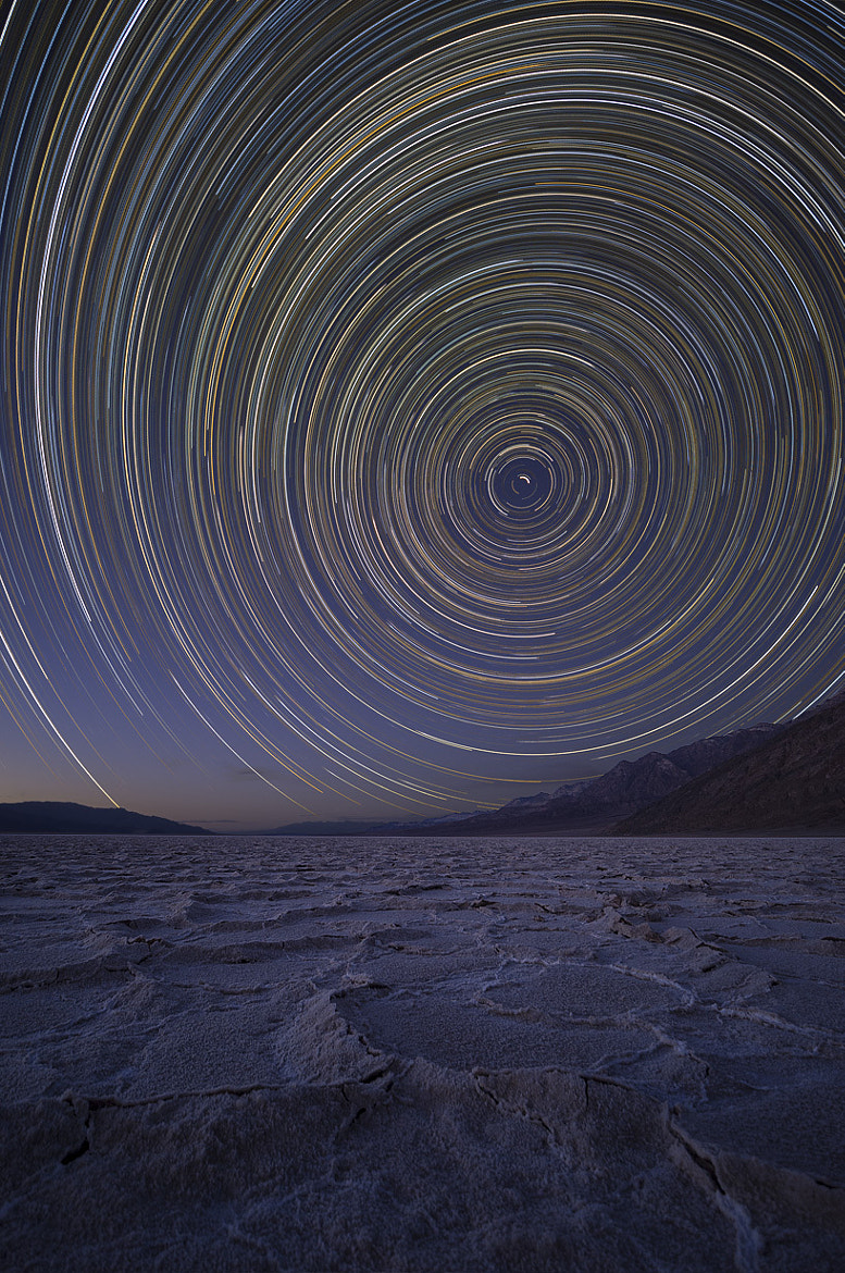 Photograph Stars over Badwater by Dominique Haussener on 500px