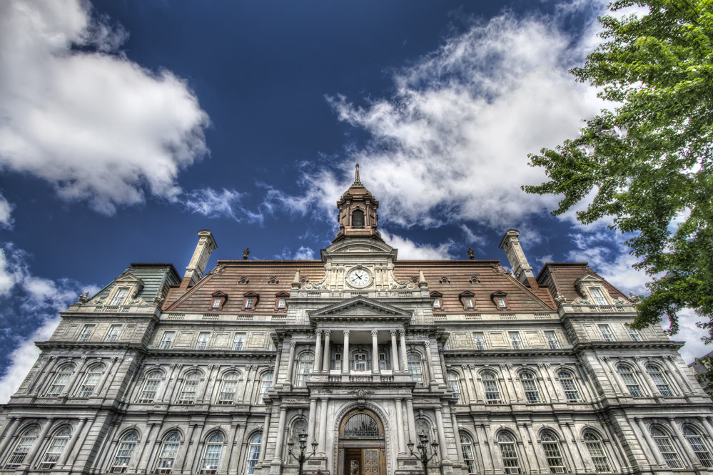Photograph Montreal City Hall by Philippe Brantschen on 500px