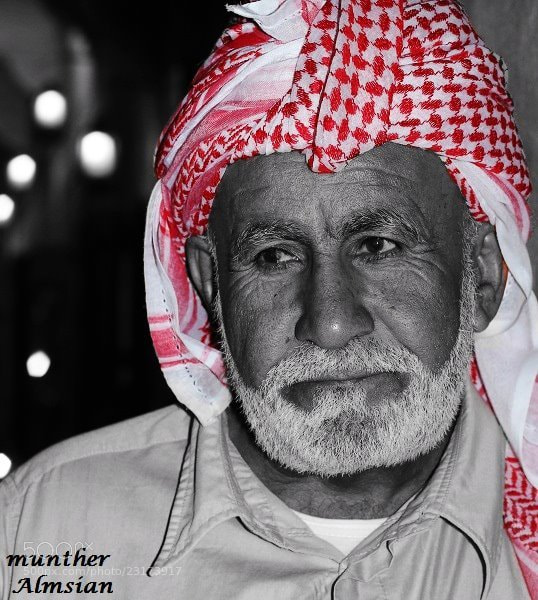Photograph تجاعيد الزمن by munther Almsian on 500px