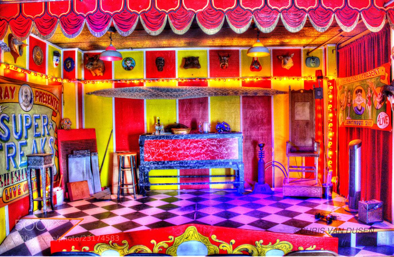 Photograph Freak Show Stage by Chris Van Dusen on 500px