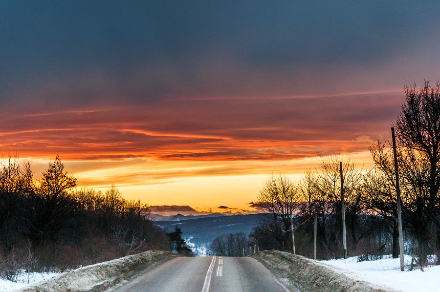 Photograph Down to the Sunset by MARIAN Gabriel Constantin on 500px
