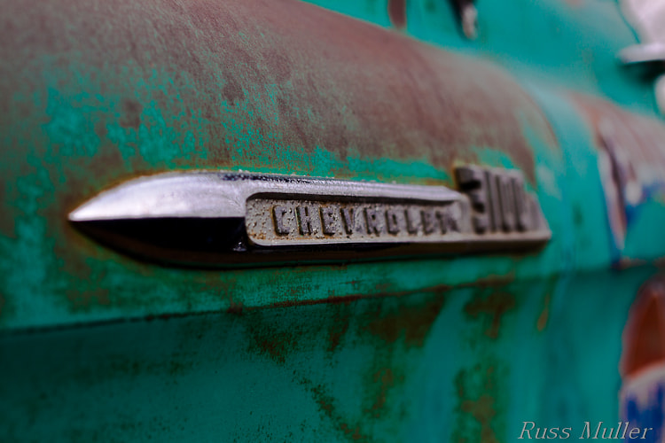 Photograph Chevy Pickup by Russ Muller on 500px