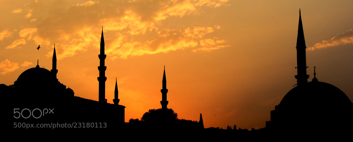 Photograph Sunset in Istanbul by Antonis Palimetakis on 500px