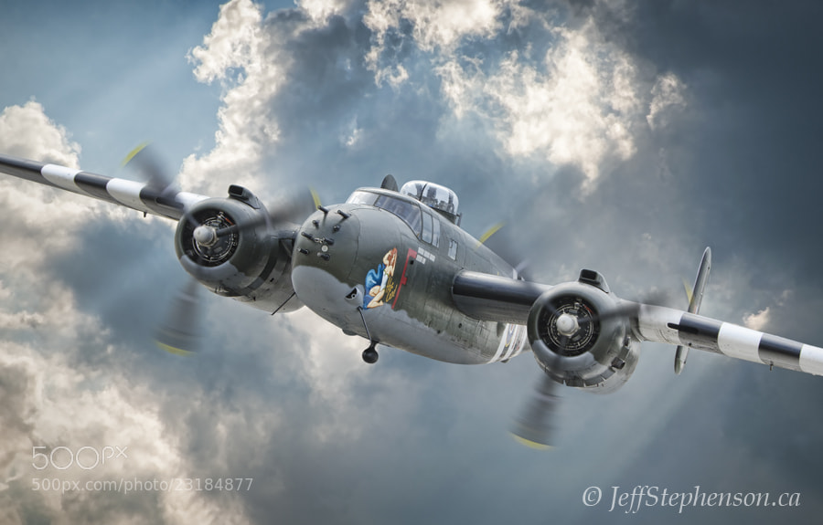 """Photograph B-25 Mitchell """"Hot Gen"""" by Jeff Stephenson on 500px"""
