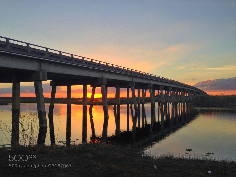 Photograph Sunset Bridge  by Jack Pierson  on 500px