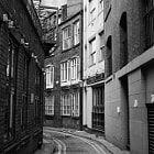 A sidestreet in Mancester