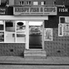 Krispy Fish & Chips, Manchester.
