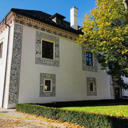 Wedding palace in Bytča town (Slovakia)