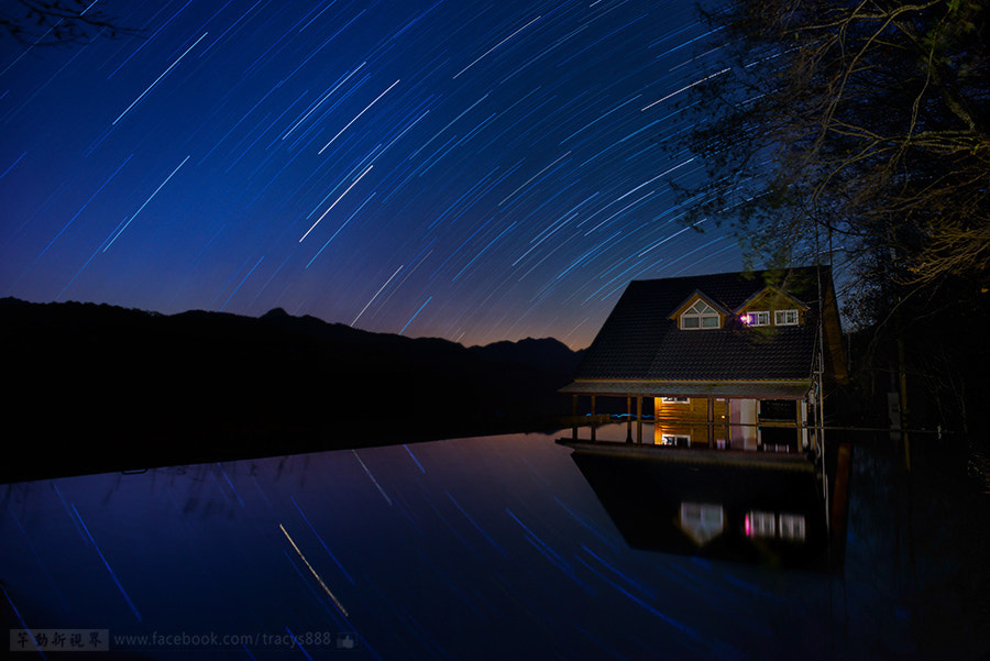 Photograph starry lights of winter by 芊芊 劉 on 500px