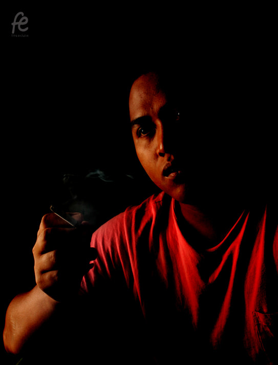 Photograph Mr. Cigarette Man by Fitra C Purnama on 500px