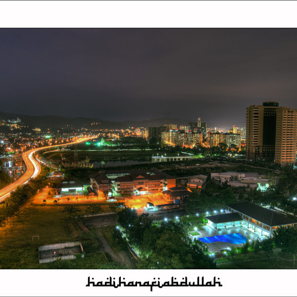 """Night View From Flat Berembang"""